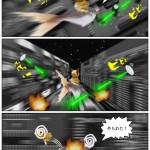 猫劇場《モッチですぢゃ!》第3回(PS版)「宇宙戦艦ダブルオー円月殺法ウォーズ三世の逆襲」史上最大の敵に挑むモッチが遂に宇宙へ!?